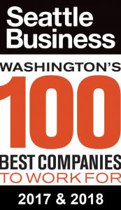 Washington's 100 best companies to work