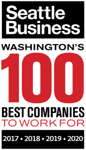 Washington's 100 Best Companies to Work For logo